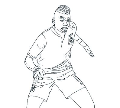 Paul Pogba-image 1 Coloring Page