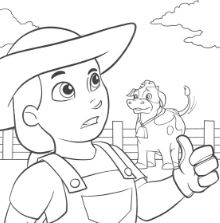 Paw Patrol 34 Coloring Page
