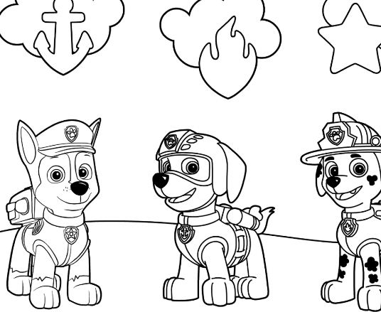 Paw patrol rubble underwater 2 coloring page free for Rubble paw patrol coloring page