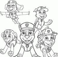 Paw Patrol Characters 4