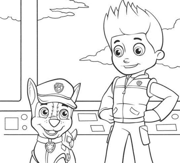 Paw Patrol Chase And Ryder