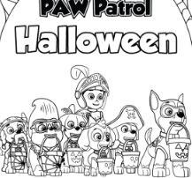 Paw Patrol Halloween 2