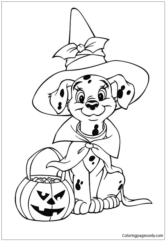 Paw Patrol Halloween Coloring Page Free Coloring Pages