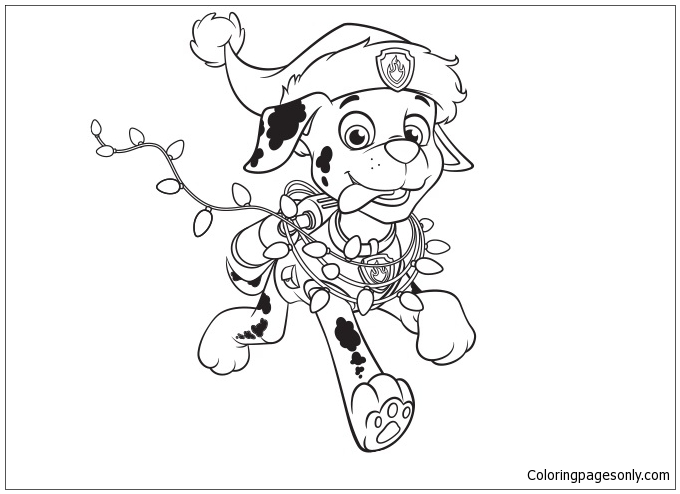 Coloring Pages For Kids Paw Patrol Www.robertdee.org