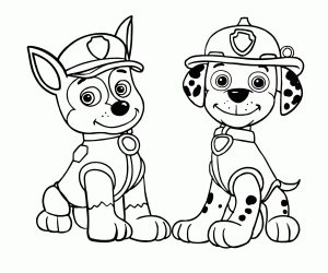Paw Patrol Coloring Pages - ColoringPagesOnly.com