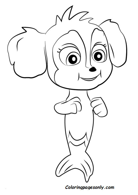 - Paw Patrol Mer Pups Coloring Page Coloring Page - Free Coloring Pages Online