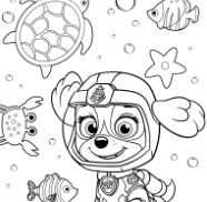 Paw Patrol Rubble Underwater 2