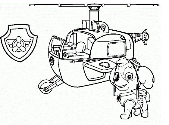 Paw Patrol 46 Coloring Page Free Coloring Pages Online
