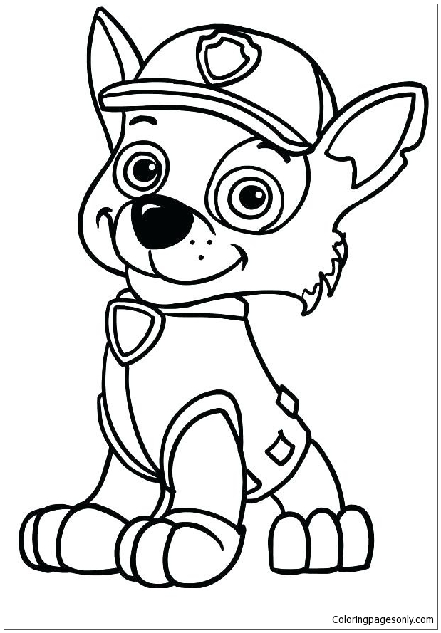 Quatang Gallery- Paw Patrol Skye Coloring Page Free Coloring Pages Online
