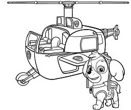 Paw Patrol Skyes Helicopter Paw Patrol