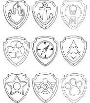 Paw Patrol Symbols