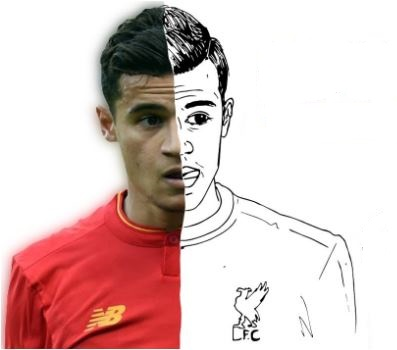 Philippe Coutinho-image 1 Coloring Page