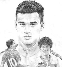 Philippe Coutinho-image 4 Coloring Page