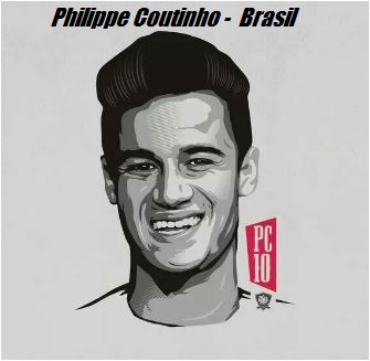Philippe Coutinho-image 6 Coloring Page