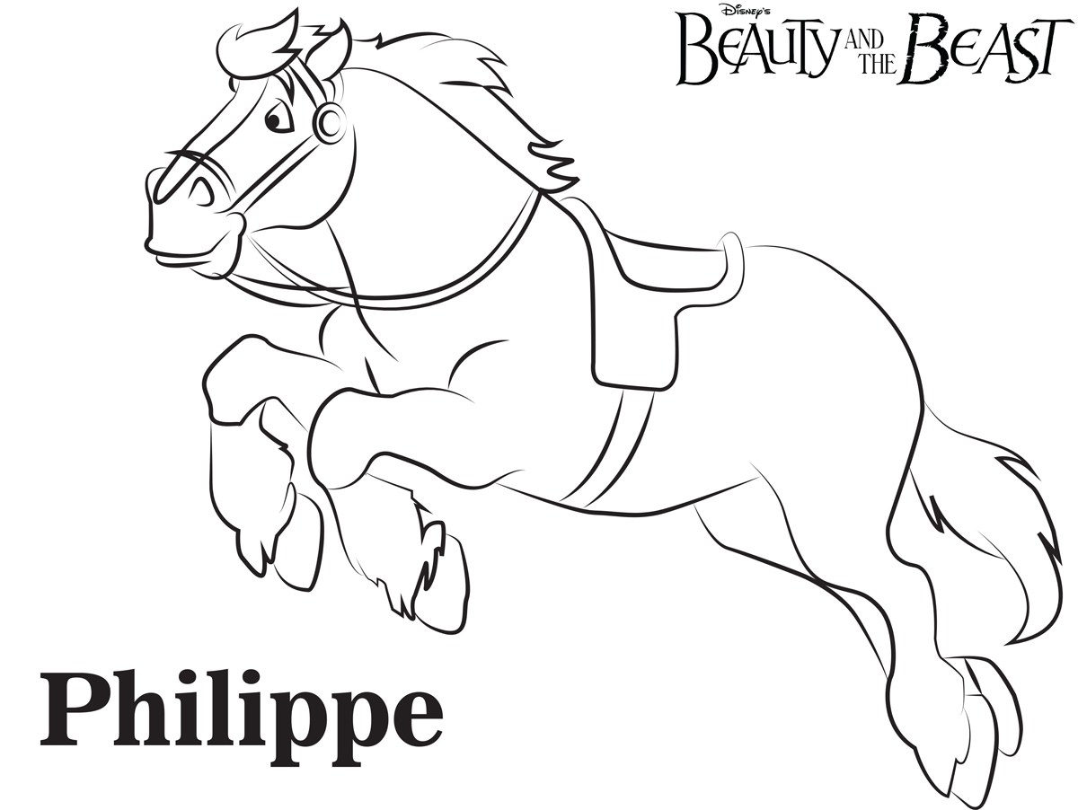 Philippe Coloring Page