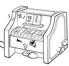 Piano Shopkins