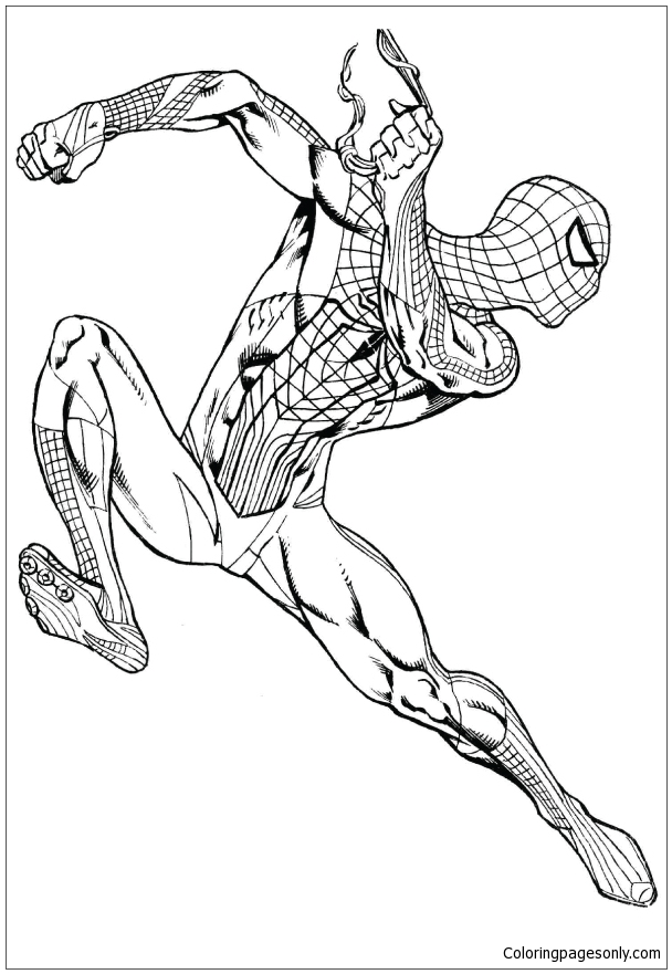 Pictures of Black Spiderman Coloring Page - Free Coloring ...
