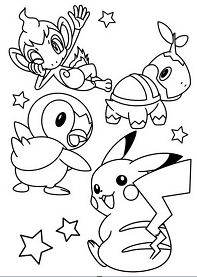 Pikachu And Friends 1