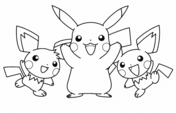 Pikachu And His Friends