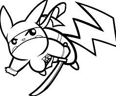 Pikachu Ninja