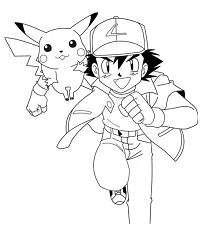 Pikachu With Ash