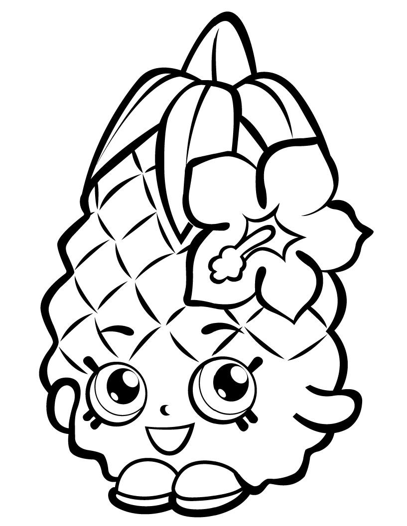 Pineapple Crush Shopkin Season 1