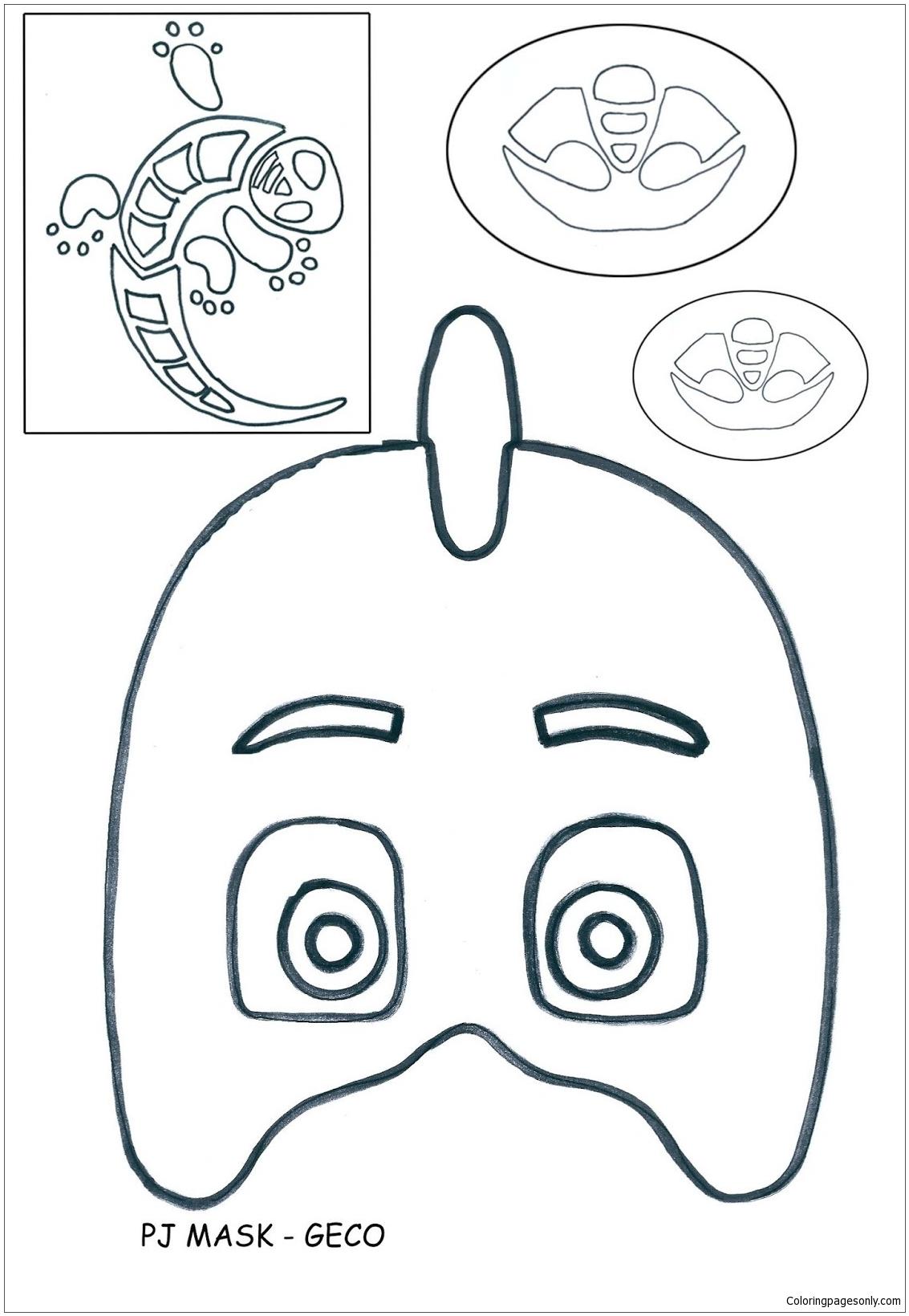Pj Masks - Geco Coloring Pages - PJ masks Coloring Pages ...