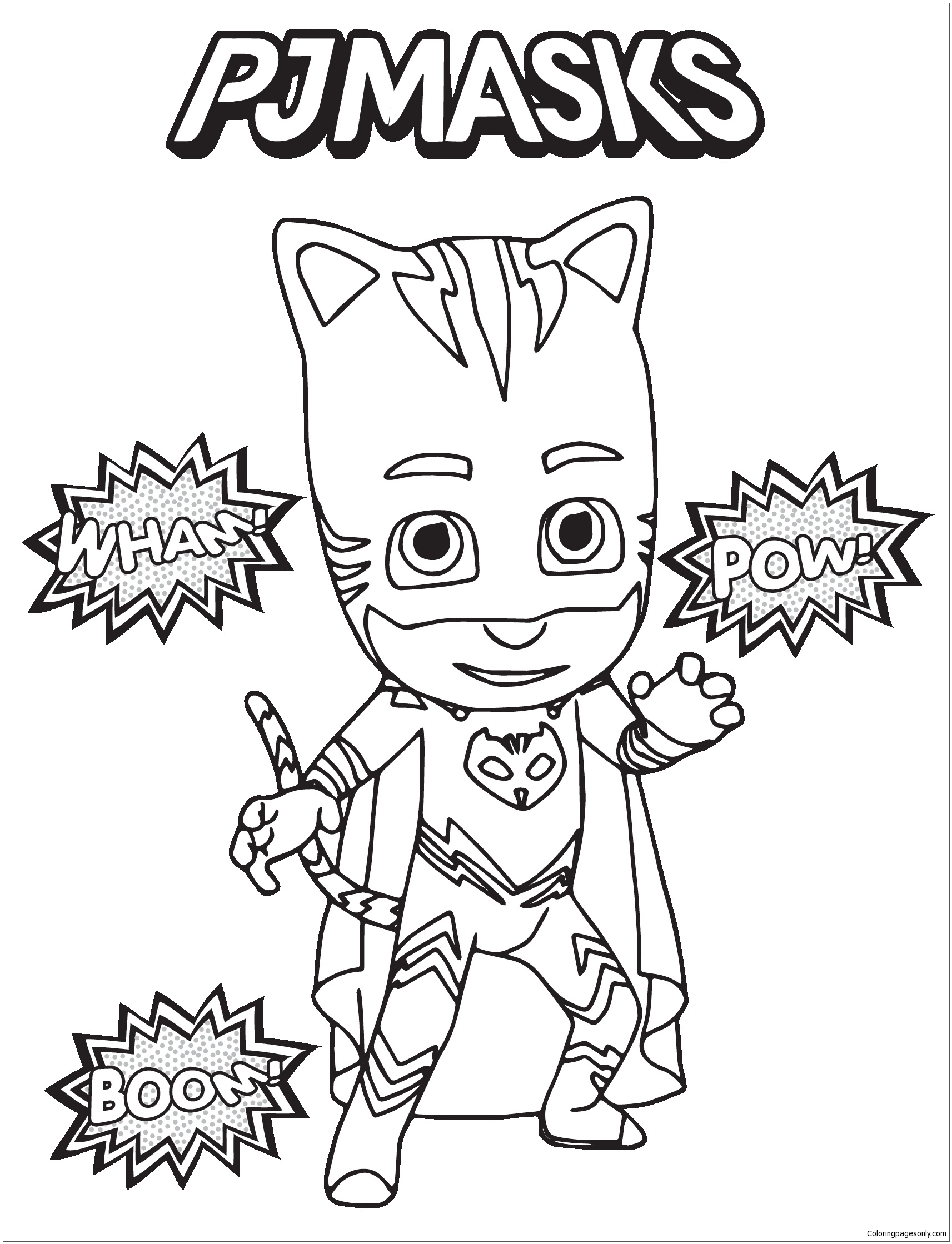 - Pj Masks 2 Coloring Page - Free Coloring Pages Online