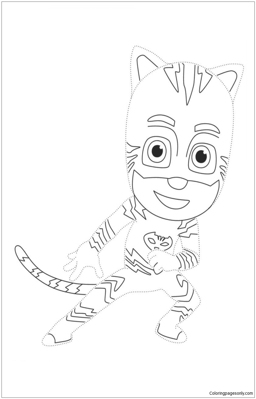 Pj Masks 3 Coloring Page Free Coloring Pages Online