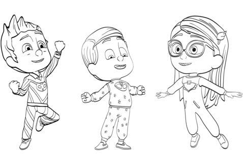PJ Masks Pajama Heroes