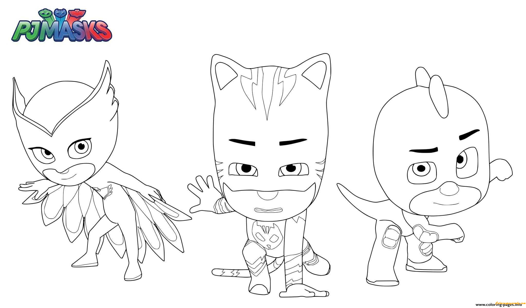 Masks Superheroes Coloring Pages