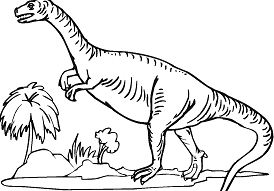 Plateosaurus 9 Coloring Page