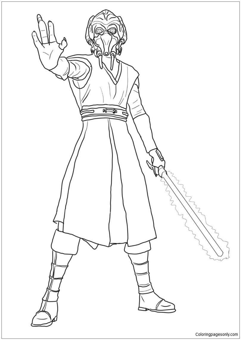 Star Wars Coloring Page 76 | Free Star Wars Coloring Page | 1139x809