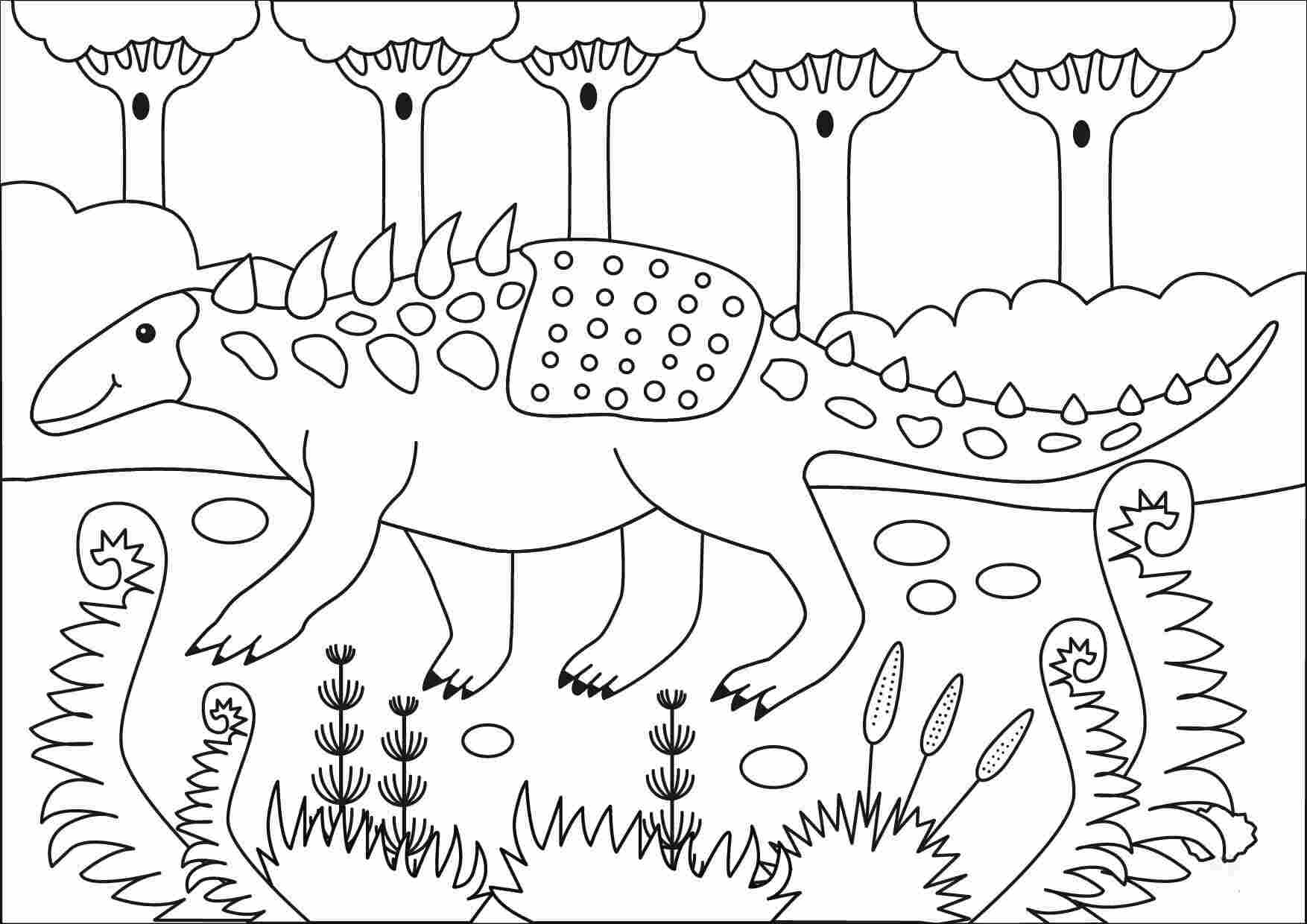 Polacanthus is a shy species that prefers to live alone Coloring Page