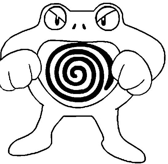 poliwrath pokemon - Grass Type Pokemon Coloring Pages