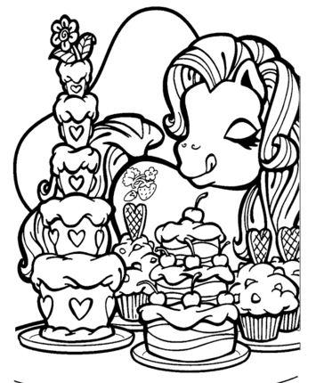 Pony Likes Sweets