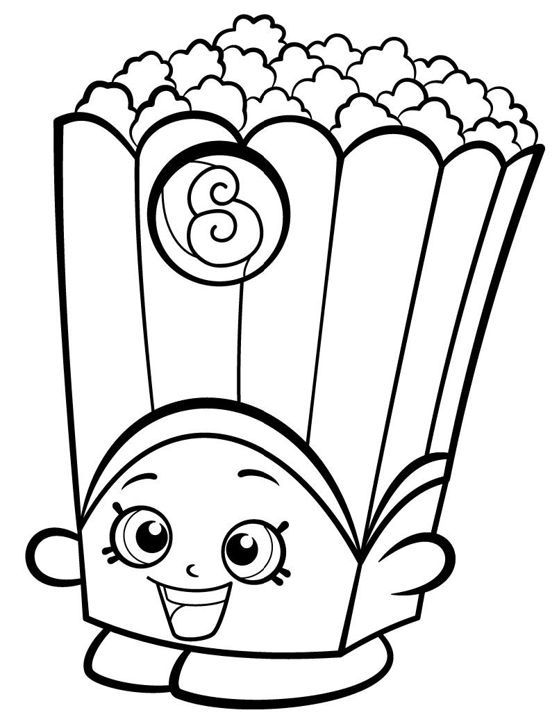 Poppy Corn Shopkin Season 2