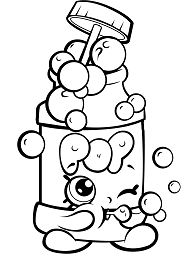 Pops  Bubble Blower Coloring Page