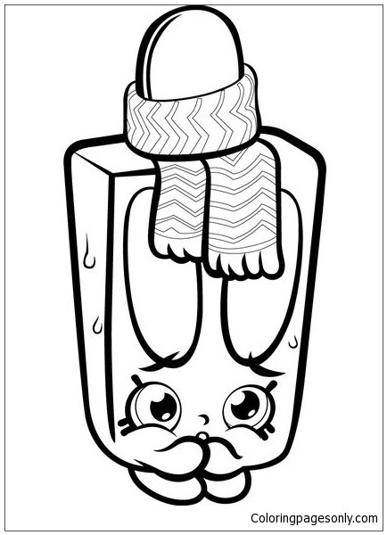 peachy shopkins coloring pages - photo#41