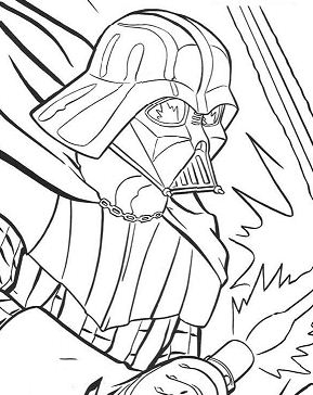 Portrait Of Darth Vader