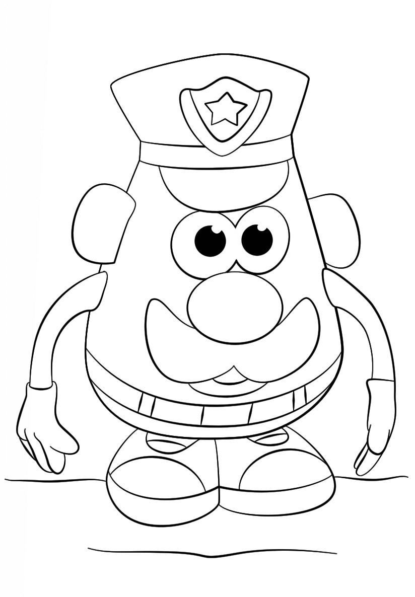 Mr. Potato Head Police