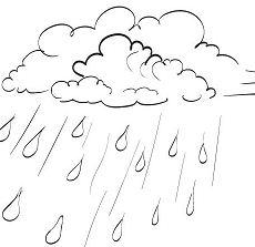 Precipitation 1 Coloring Page