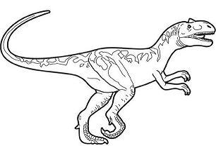 Prehistoric ankylosaurus Prehistoric allosaurus