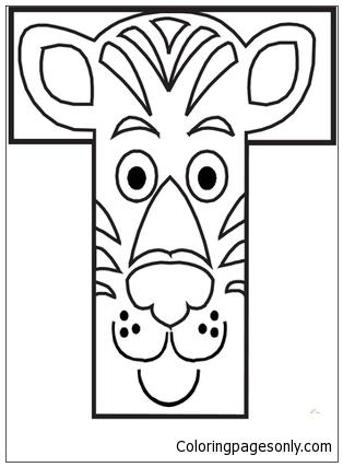 Preschool Letter T Image 2 Coloring Pages Alphabet Coloring Pages Free Printable Coloring Pages Online