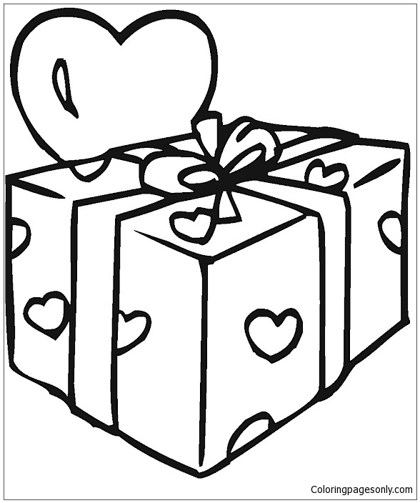 Presents Shopkin Coloring Page Free Coloring Pages Online