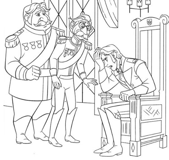 Prince Hans And Duke Of Weselton