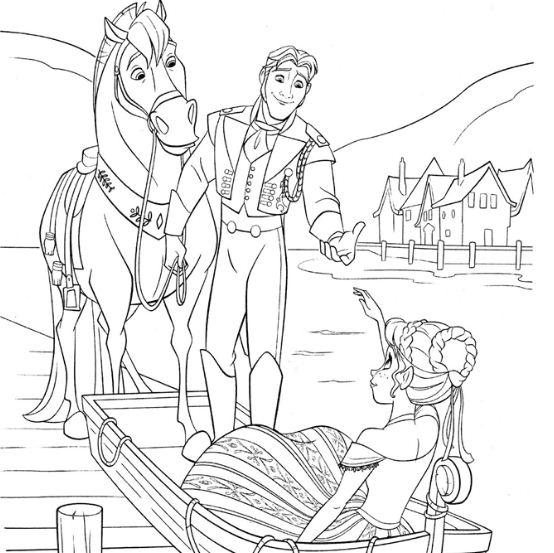 Prince Hans Meets Princess Anna