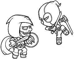 Professional Deadpool Coloring Page