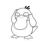 Psyduck Pokemon Coloring Page