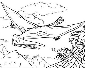 Pterosaur Flying Reptile